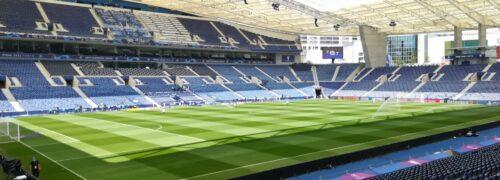 UEFA atribui 5 estrelas ao relvado do Estádio do Dragão